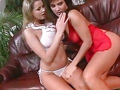 Milf Lesbian Two roomies get to know each other.Lesbian milf sex!