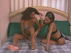 Adventure with smooth lesbian vixen