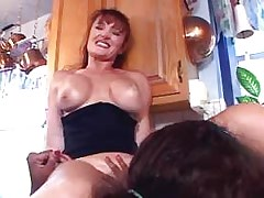 Two horny lezzies play with dildos.Lesbian mature sex!