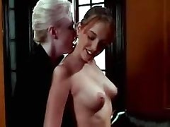 Mature and Girl Beautiful lezzie gets hard dildoing.Lesbian mature sex!