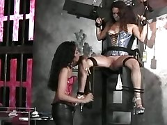 Girl tortured by lesbian mistress.Fetish Lesbian Stories!