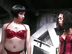 Brunette tortured by lesbi mistress.Fetish Lesbian Stories!
