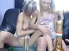 Lesbo hottie licks her girlfriend.Sweet small titties.Young sexy lesbian!