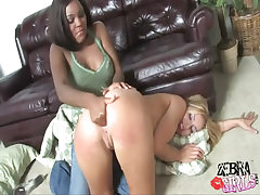 interracial lesbian dildofucks spoiled slutty