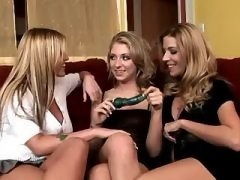 Girl in Threesome Adventure with sexy lesbian cutie