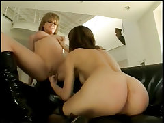 Charlie sticks dildo in tyla s tiny ass