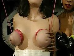 Dominatrix causes an involuntary orgasm