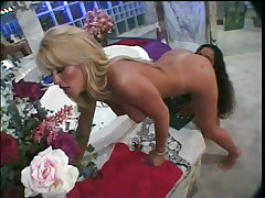 Lesbians jill kelly and dee in bathroom