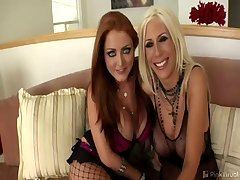 MILF-a-licious Puma Swede and 'extreme porn' queen Sophie Dee drop by to play with some wild sex..
