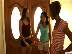 Girl in Threesome Chasity thought that hangin' out with Veronica and Celeste..