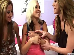 Kacey Jordan Kayla Paige & August Night: Lesbian Group Sex