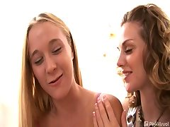 You don't need a PHD to know when you pair cute apprentice lesbo Julie and sexy cuntlicker Brianna..