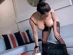Brunette girl shows pussy.Fetish Lesbian Stories!