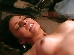 Horny blond army doll licking pussy.Slip nipple.Lesbian milf sex.Sweet small titties!