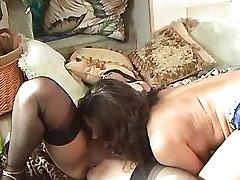 Lesbo beauty licks and dildofucks.Lesbian licking!