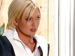 Lesbian teacher in stockings spoils school miss.Lesbian milf sex!