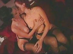 Lesbian licking and dildoing pussy.Girl kissing girl.Hot Latina Lesbian.Lesbian milf sex.Slip nipple!