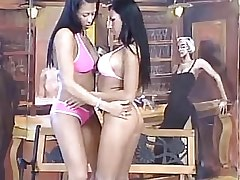 Brunette lesbians caress each other.Fetish Lesbian Stories.Hot Latina Lesbian!