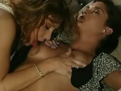 Funny lesbians with perky boobs