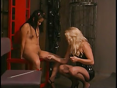 Submissive asian sobs while humiliated